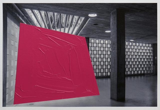 , 'Intrusion nº54,' 2014, Johannes Vogt Gallery
