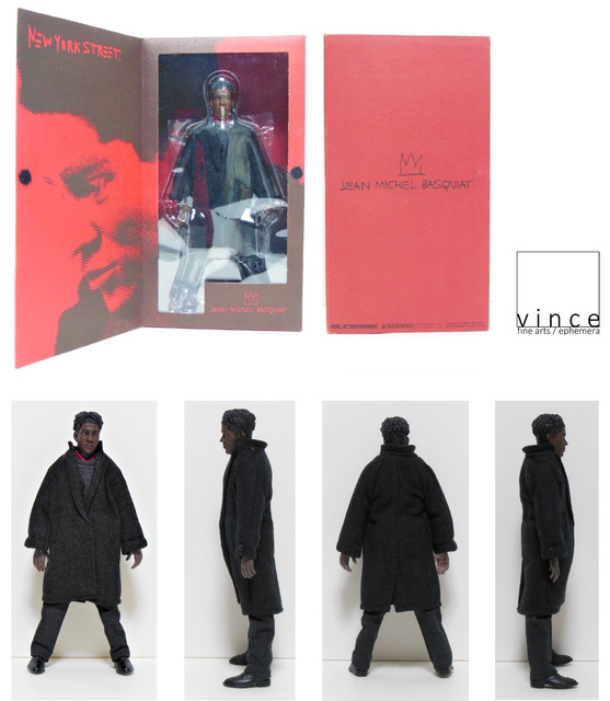 ", '""Jean Michel Basquiat"", 2005, Action Figure, Medicom Toy Co. Japan, RARE,' 2005, VINCE fine arts/ephemera"