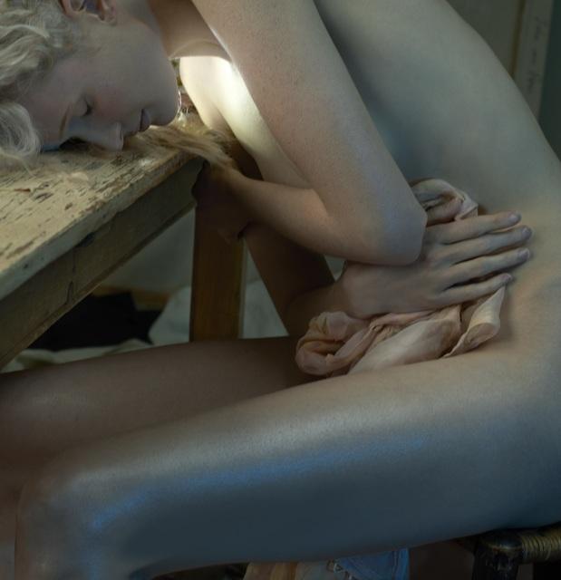 , 'Blonde Tête sur table ,' , Galerie Vivendi