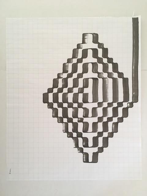 Tauba Auerbach, 'Ligature Drawing, 15 December 2018', 2018, moCa Cleveland: Benefit Auction 2019
