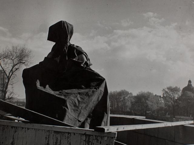 Brassai (Gyula Halasz), 'Statue au Pont du Carrousel', ca. 1940, Michael Hoppen Gallery