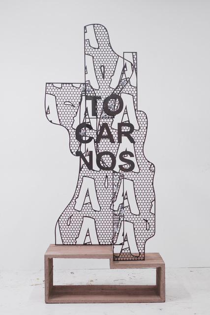 , 'A to carnos,' 2018, ADN Galeria (Barcelona)