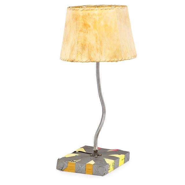 Tom Sachs, 'Telephone Book Lamp', 1994, Rago