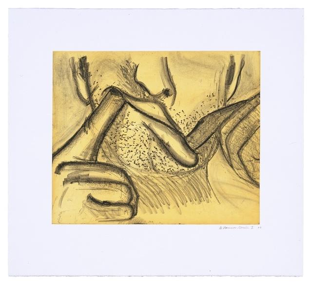 Bruce Nauman, 'Soft Ground Etching - Yellow', 2007, Magenta Plains
