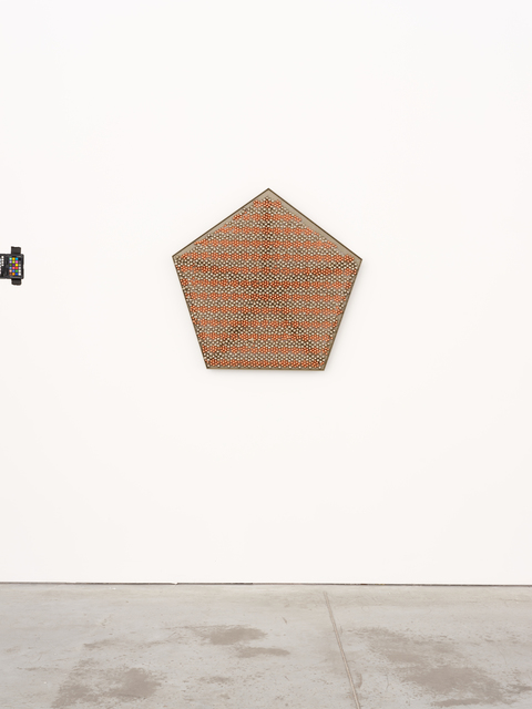, 'Sonic Rotating Geometry Type G – Copper and Nickel Plated #53,,' 2015, kurimanzutto
