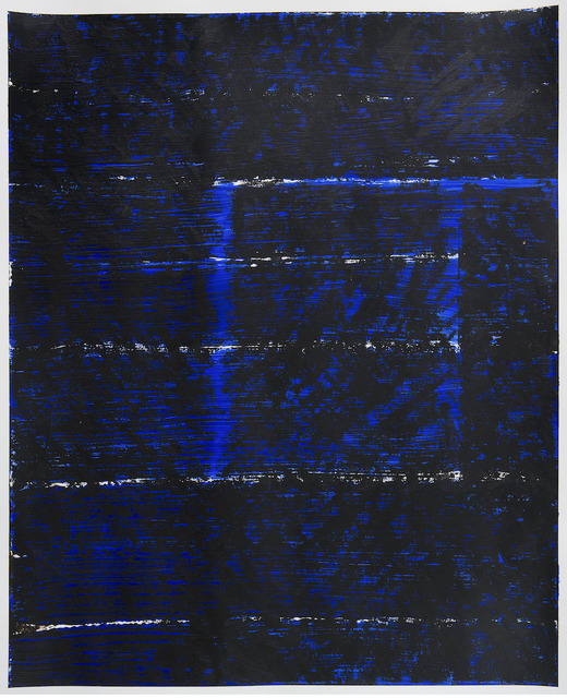 , 'Blue Square,' 2016, InLiquid