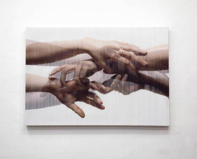 , 'Strings Hands 006,' 2014, Pontone Gallery