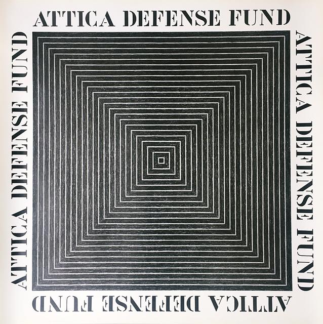 , 'Attica Defense Fund,' 1975, Alpha 137 Gallery