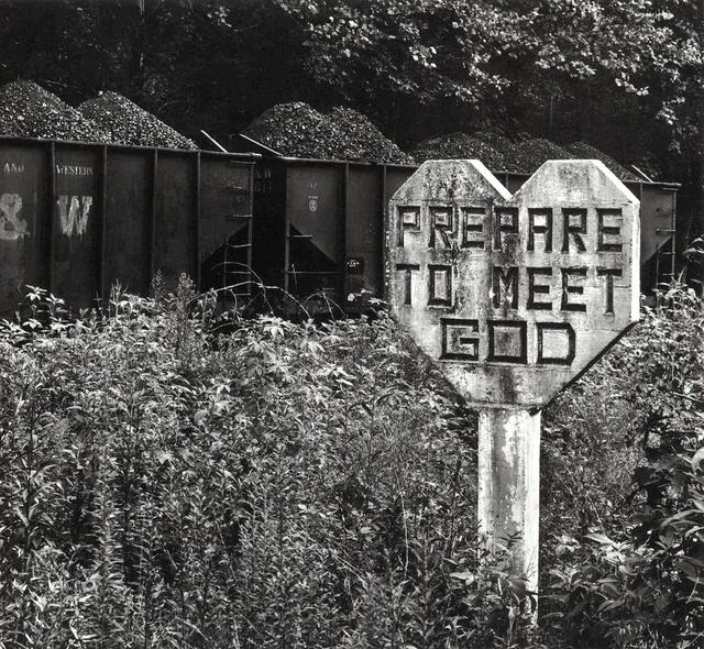 , 'Prepare to Meet God, Williamson, Mingo County, West Virginia,' 1971, Arnika Dawkins Gallery