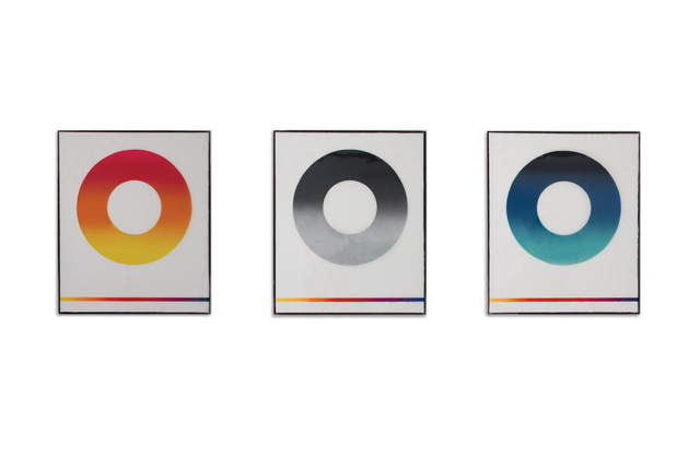 , 'Nirvana Sun Series 1-3,' 2017, Circle Contemporary
