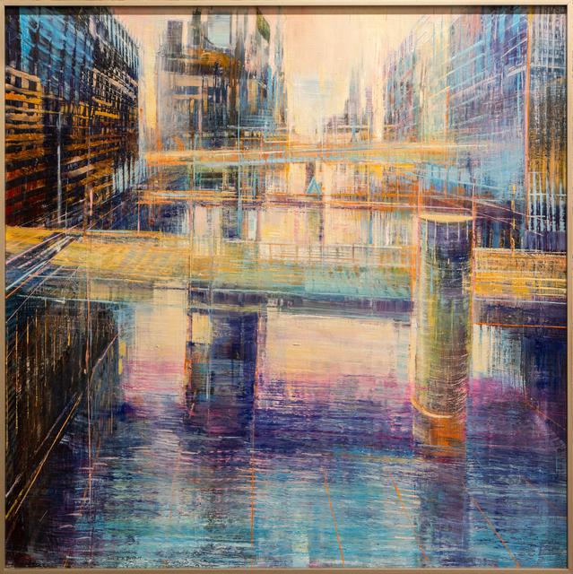 , 'Milwaukee Building Bridges,' 2018, Lily Pad West
