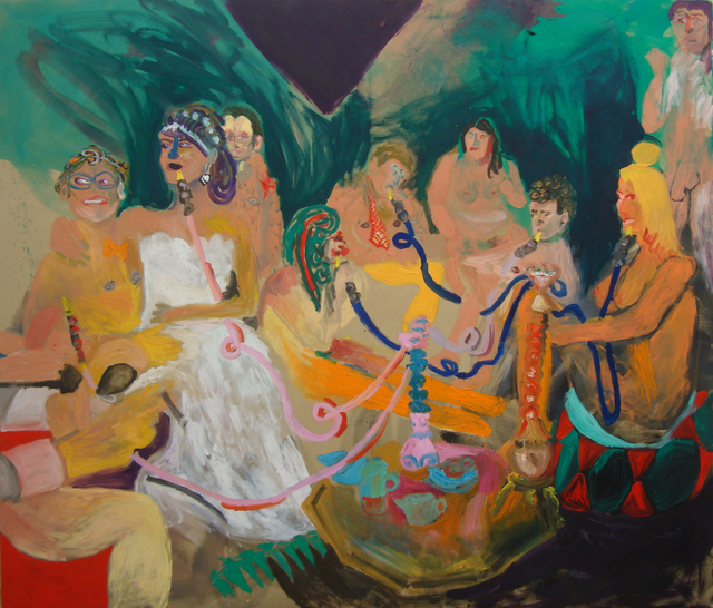 , 'Bitches get nasty on the hookah ,' 2015, Ornis A. Gallery