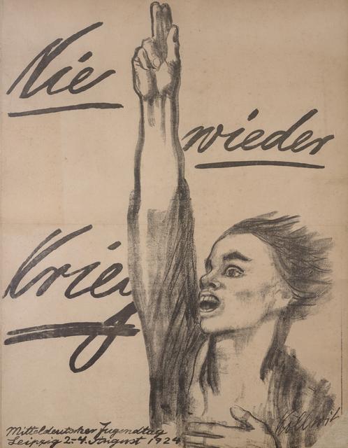 , 'Never Again War!,' 1924, Galerie St. Etienne