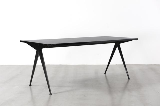 Jean Prouvé, 'Cafétéria no. 512 table, A.K.A. compas table', ca. 1950, Galerie Patrick Seguin
