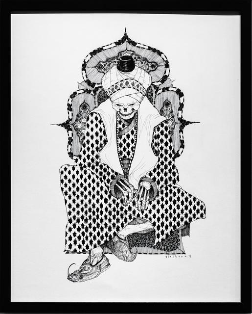 , 'Dead King 19 [14th Century Moroccan Lord],' 2018, Paradigm Gallery + Studio