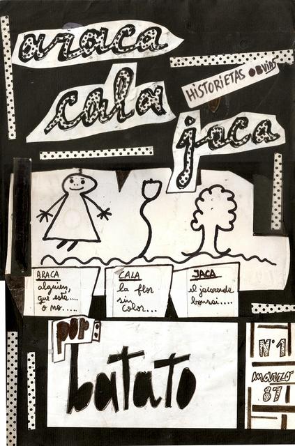 """, ' """"Historietas Obvias"""" n ° 1, """"Araca, Cala, Jaca"""",' 1987, Cosmocosa"""