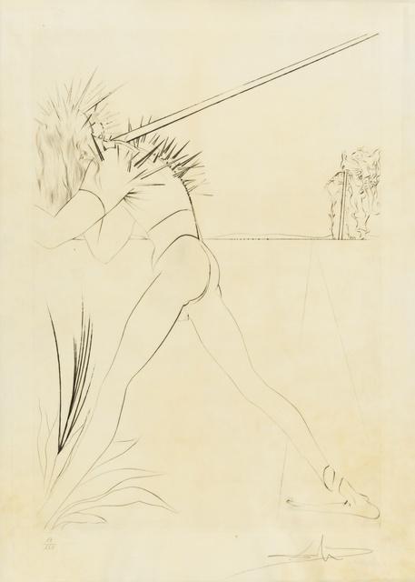 Salvador Dalí, 'Il y a des soldates... (M&L 594; Field 73-8.I)', 1973, Print, Engraving, Forum Auctions