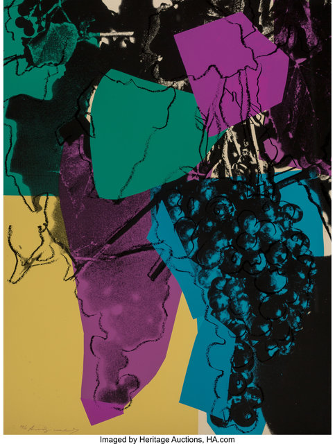 Andy Warhol, 'Grapes', 1979, Heritage Auctions