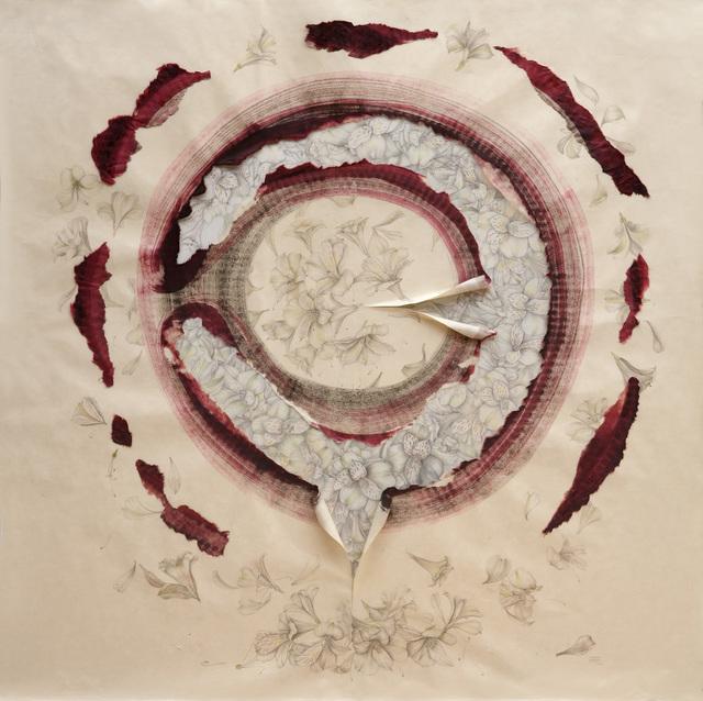 , 'Alstroemerias, tiempo y vida,' 2015, Lucia Mendoza