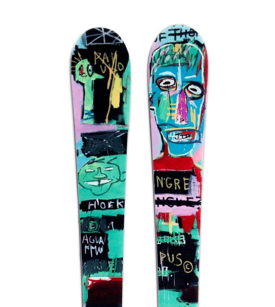 Green Basquiat Ski