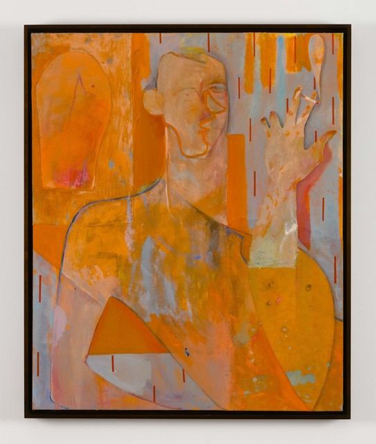 , 'Untitled (Smoker in Orange),' 2017, 11R