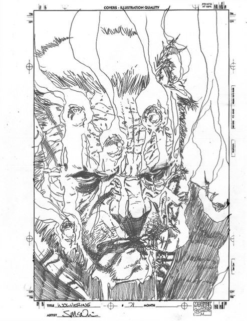 , 'WOLVERINE (2010) #71, Cover OLD MAN LOGAN (Gore Cover Prelim),' 2010, Gallery 30 South