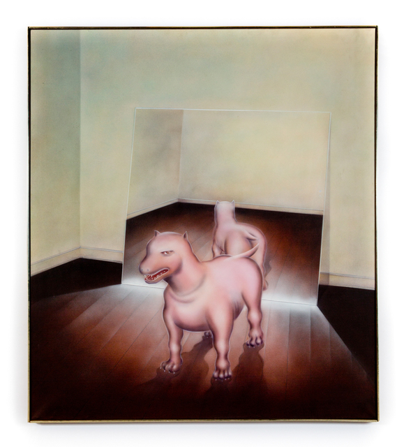 , 'I.A. Young - Dog Mirror,' 1972, the harts gallery