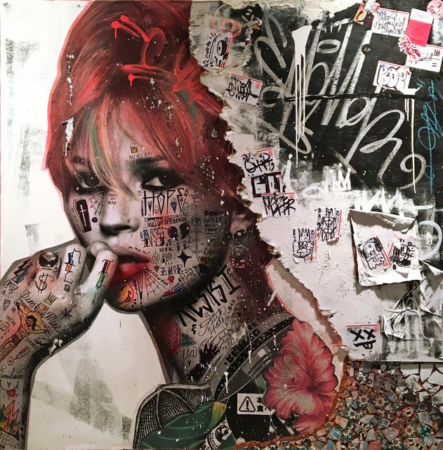 , 'Bitch Please It's Kate Moss,' 2018, NextStreet Gallery