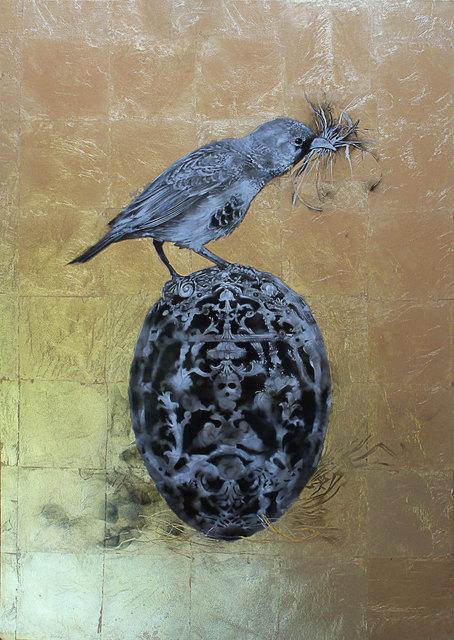, 'Feberge Sparrow (Framed),' 2017, Station 16 Gallery