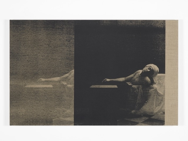 , 'Marat Linen Small,' 2016, Galerie Krinzinger