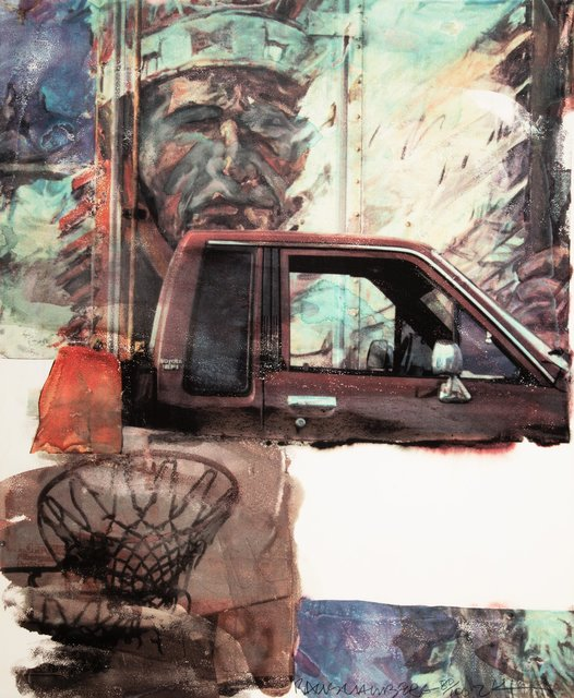 Robert Rauschenberg, 'American Indian', 2000, Print, Archival pigment print in colors on Concord rag paper, Heritage Auctions