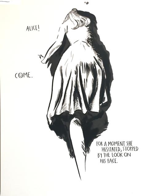 , 'No Title (ALICE! COME),' 1991, The LODGE