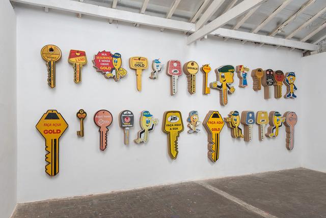 , 'Panel,' 2015, Galeria Marilia Razuk
