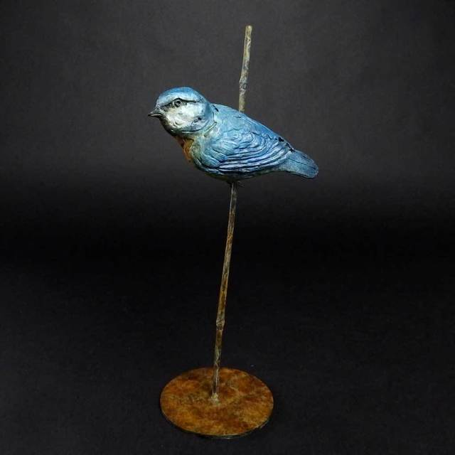 , 'Blue Tit,' 2017, The Biscuit Factory
