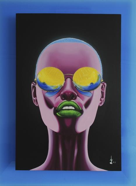 , 'Pink Ebony,' 2018, Addicted Art Gallery
