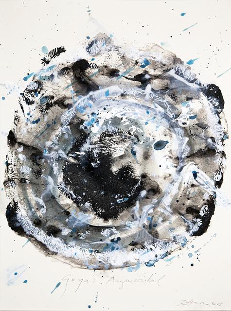 , 'Goya's Augenwirbel,' 2015, Galerie Thomas