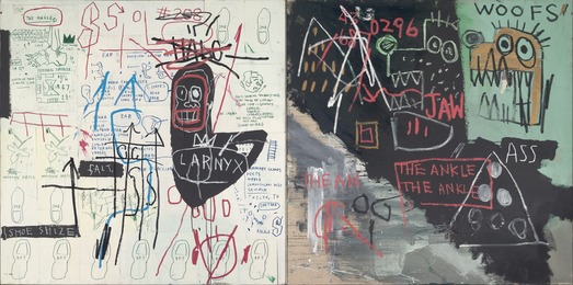 Jean-Michel Basquiat, 'Diagram of the Ankle (The Ankle),' 1982, Yale University Art Gallery