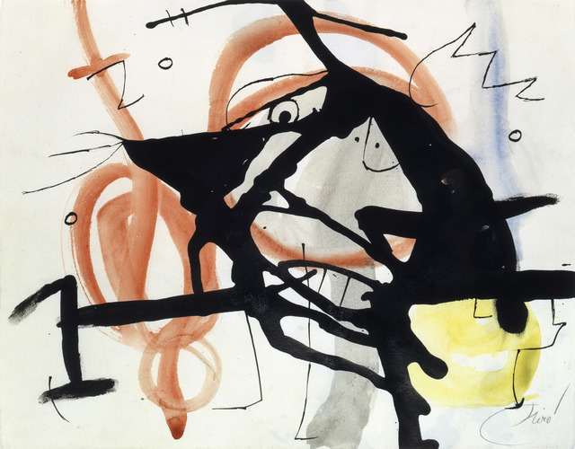 Joan Miró, 'Personnage, oiseaux IV (W7803)', 1976, Galerie Ernst Hilger