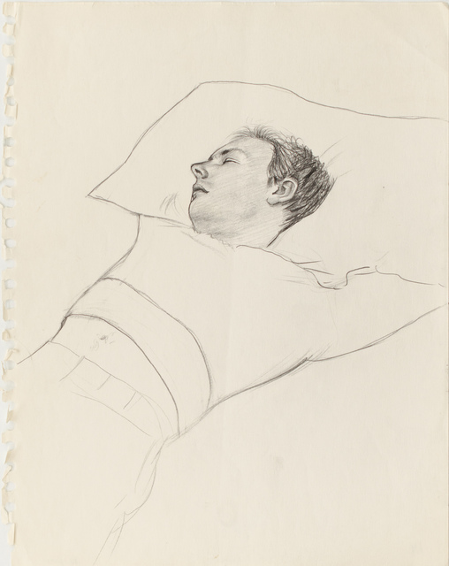 , 'Untitled ( Figure Sleeping ),' ca. 1980, Galerie Thomas Fuchs