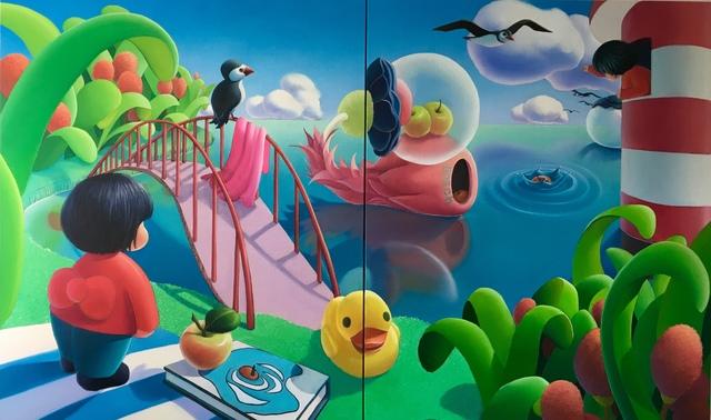 Ma Dan 马丹, 'The ripples caused by Bosch ship', 2019, Amy Li Gallery