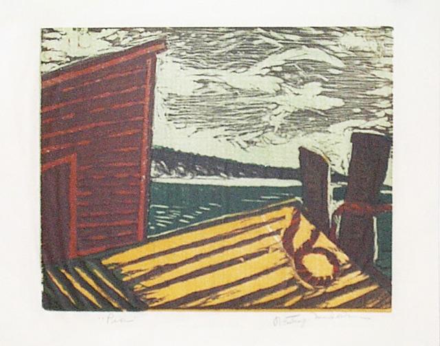 , 'Pier,' 1936, David Richard Gallery