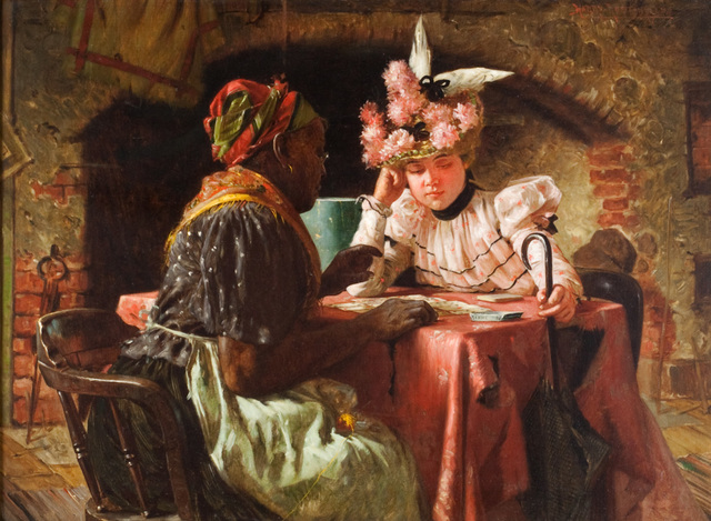 , 'Looking into the Future,' 1899, Questroyal Fine Art