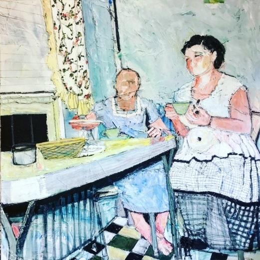 , 'Barefoot in the Kitchen,' , Zenith Gallery