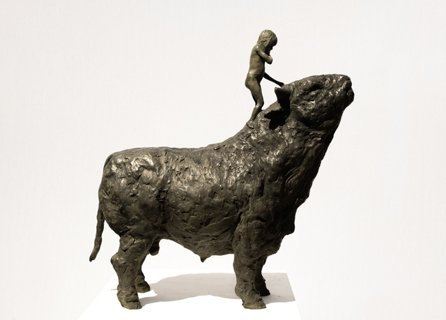 Beth Carter, 'Girl and Bull', Hugo Galerie