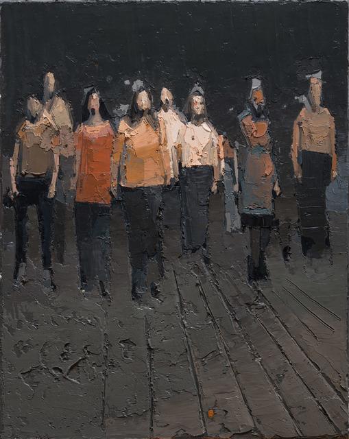 , 'corteo,' 2017, Galerie Thomas Fuchs
