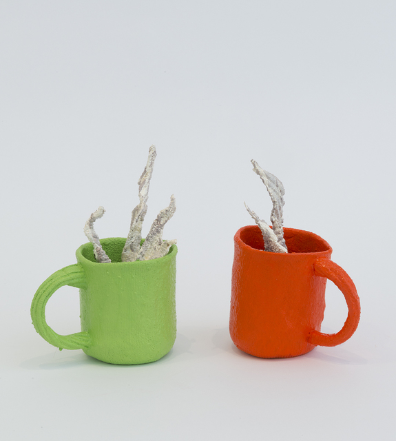 , 'Coffee (Green & Orange),' 2017, Joshua Liner Gallery