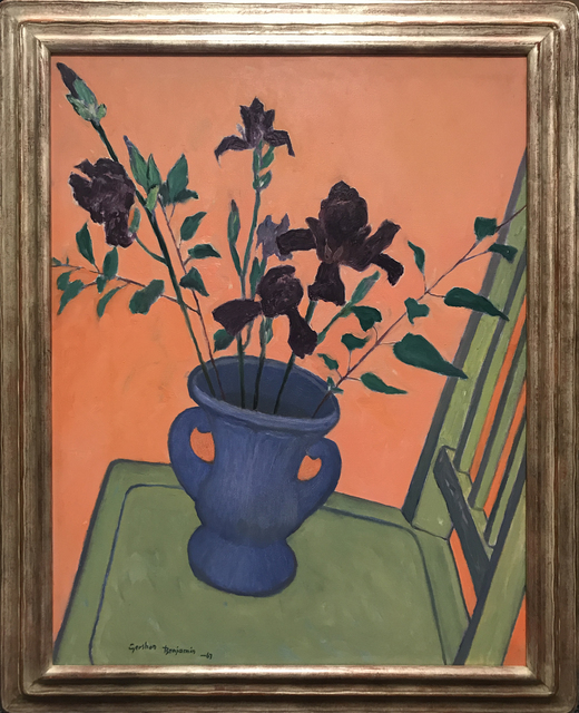 , 'Irises,' 1967, Cavalier Galleries