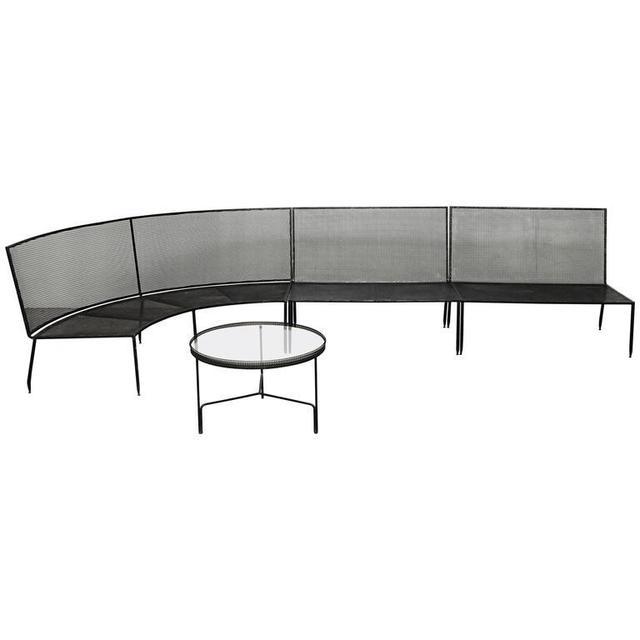 , 'Set of Mathieu Mategot Sofa and Coffee Table, circa 1950,' ca. 1950, DADA STUDIOS