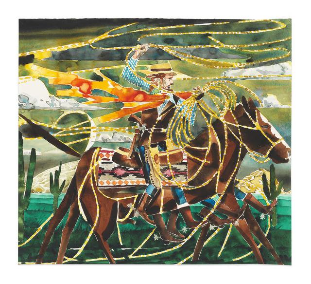 Barnaby Furnas, 'The Wrangler (Night)', 2019, Marianne Boesky Gallery
