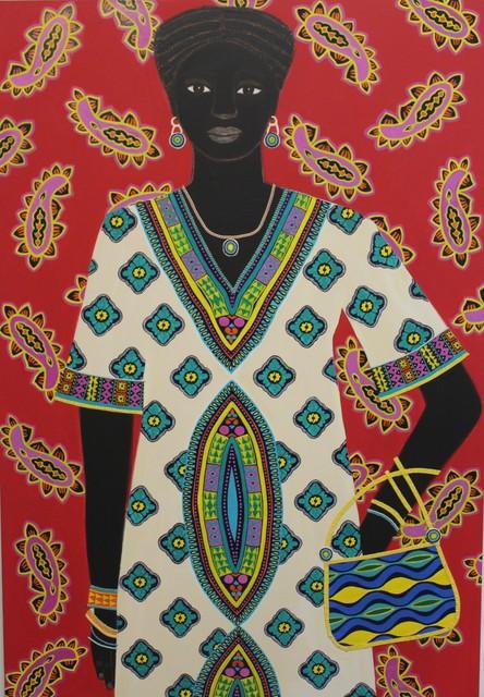 , 'Diatou,' 2019, Rebecca Hossack Art Gallery